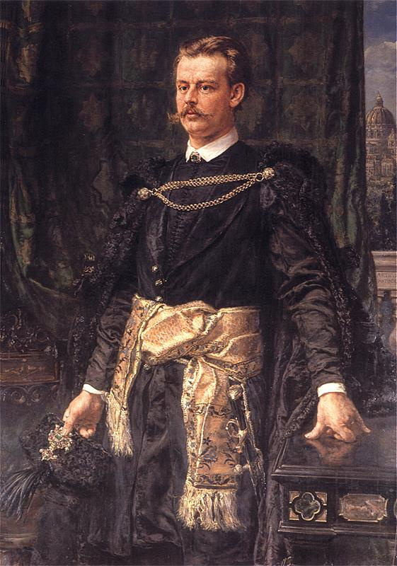 Ян Матейко. Портрет Артура Владислава Потоцкого