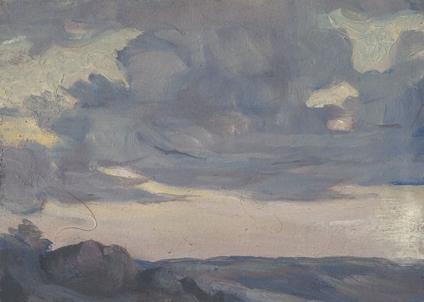 Ivan Ivanovich Zakharov. Clouds of Central Asia