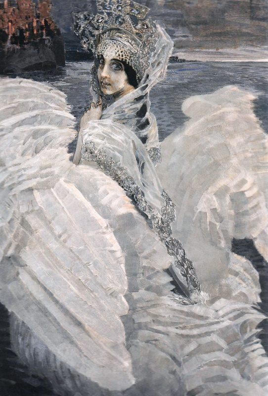 Mikhail Aleksandrovich Vrubel. The Swan Princess