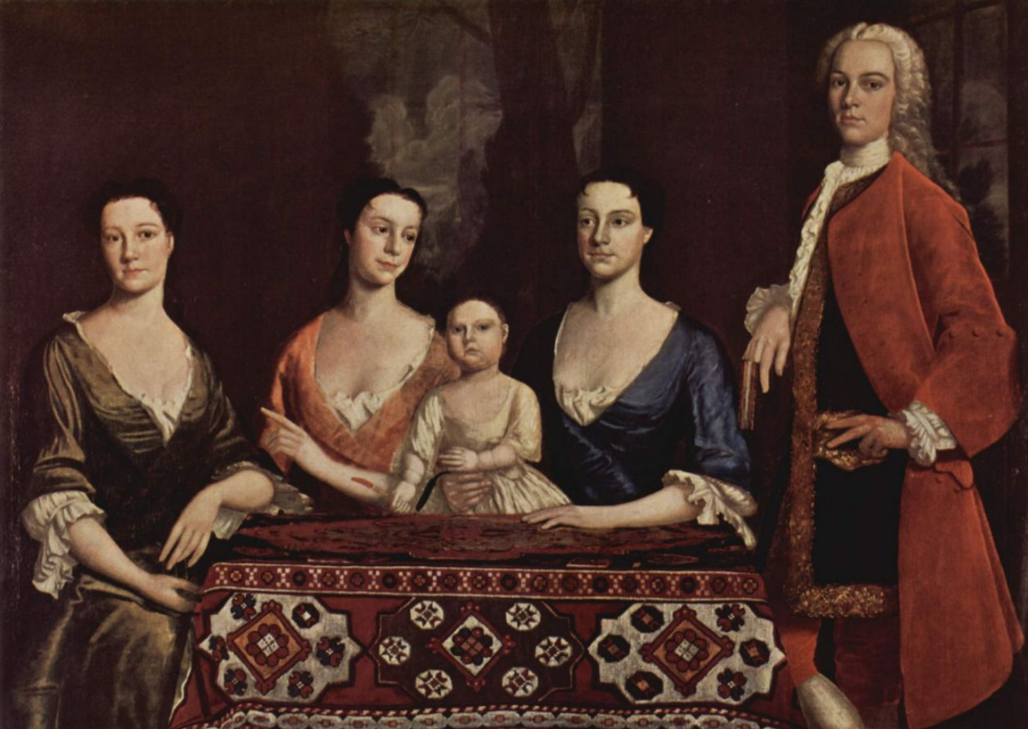 Роберт Феке. Портрет семьи Исаака Ройола