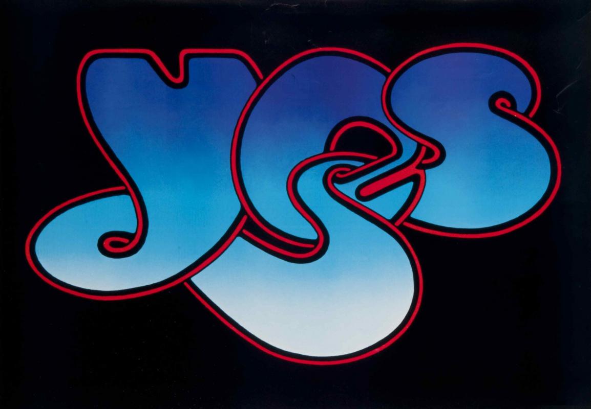 Roger Dean. YES logo