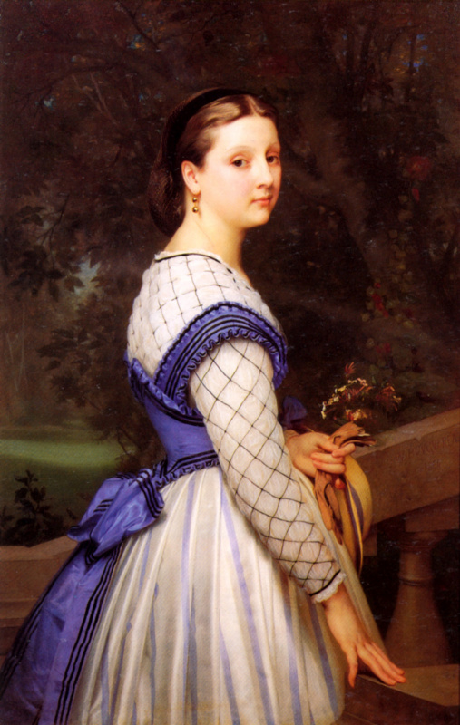 Адольф Вильям Бугро. Графиня де Монтолон.
