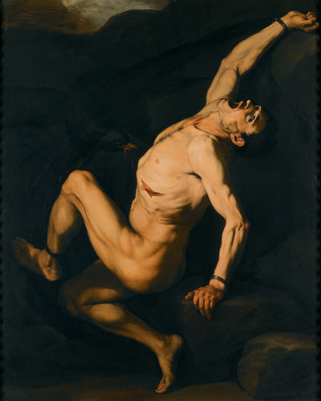 Jose de Ribera. Prometheus