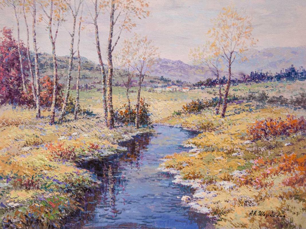 Andrey Sharabarin. У ручья в октябре
