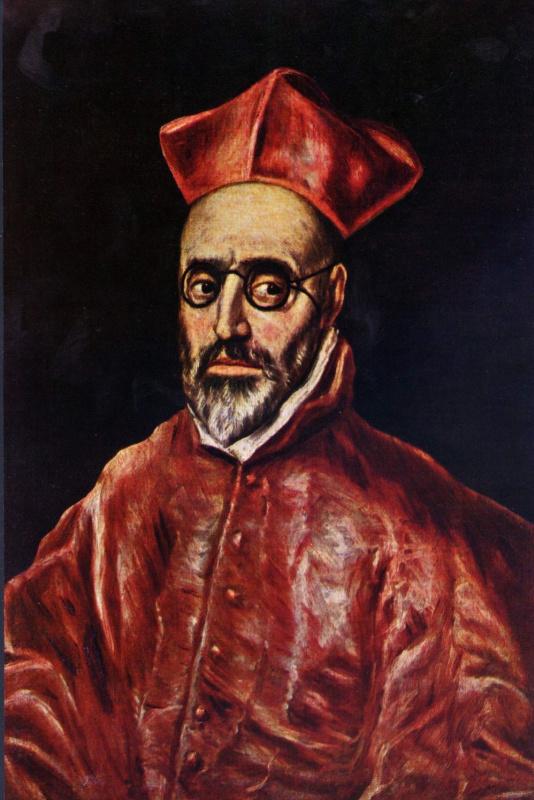 Кардинал-инквизитор Дон Фернандо Ниньё де Гевара, фрагмент