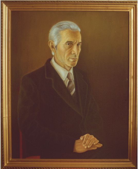 Vladimir Pavlovich Parkin. Портрет директора совхоза из Таджикистана.