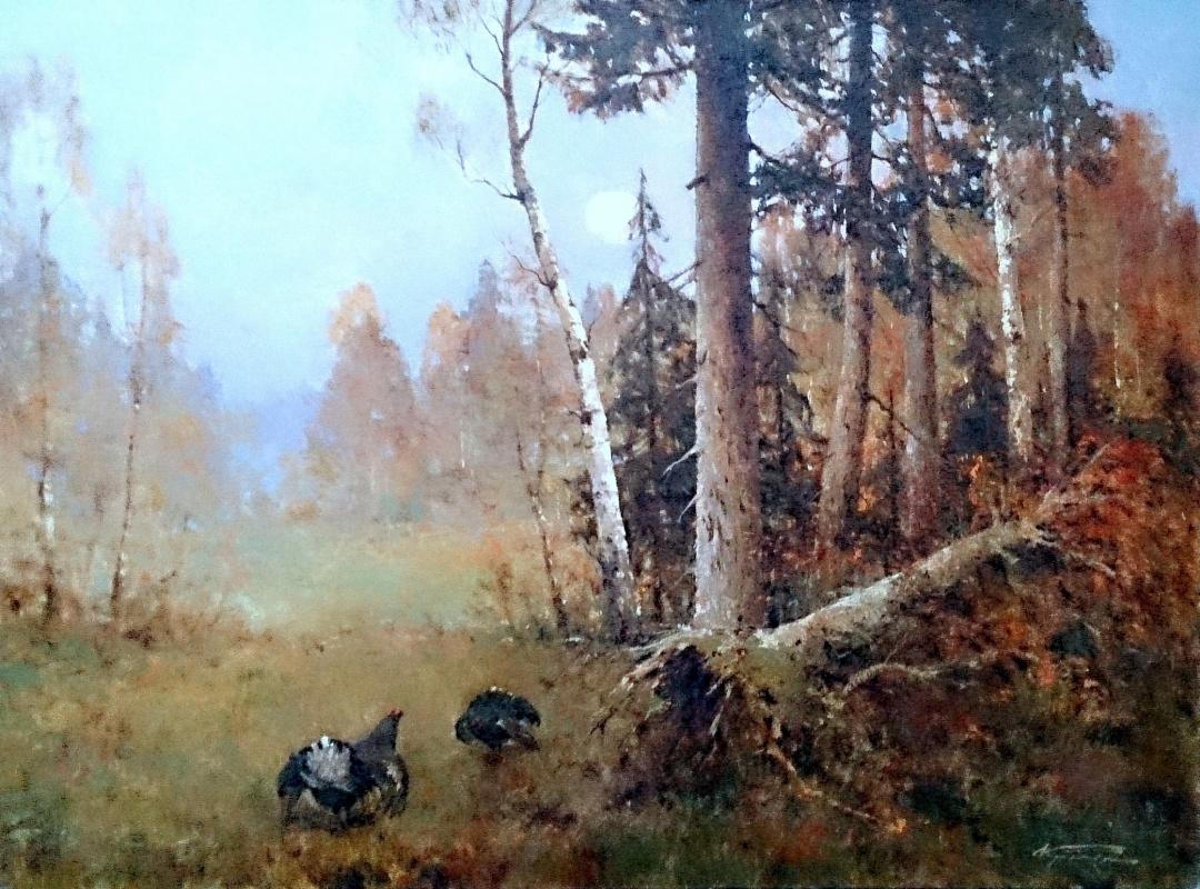 Alexander Markovich Kremer. Spring forest