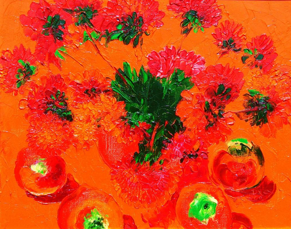 Alexander Ocher Kandinsky-DAE. Red still life