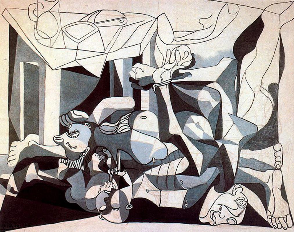 Пабло Пикассо. Склеп (Братская могила)