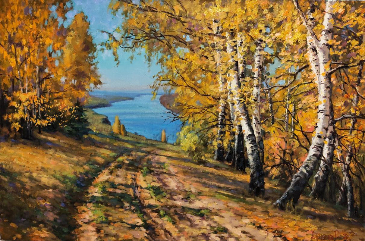 George Kharchenko. The vastness of autumn.