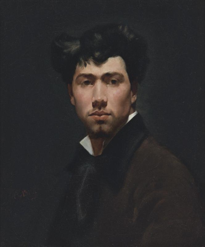 Giovanni Boldini. Portrait of a young man (Rinaldo Camielo)