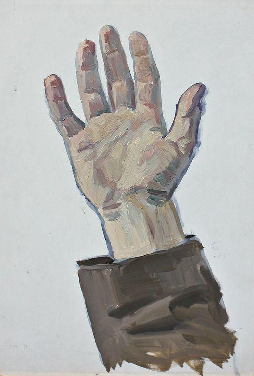 Orest Georgievich Betekhtin. Hand sketch