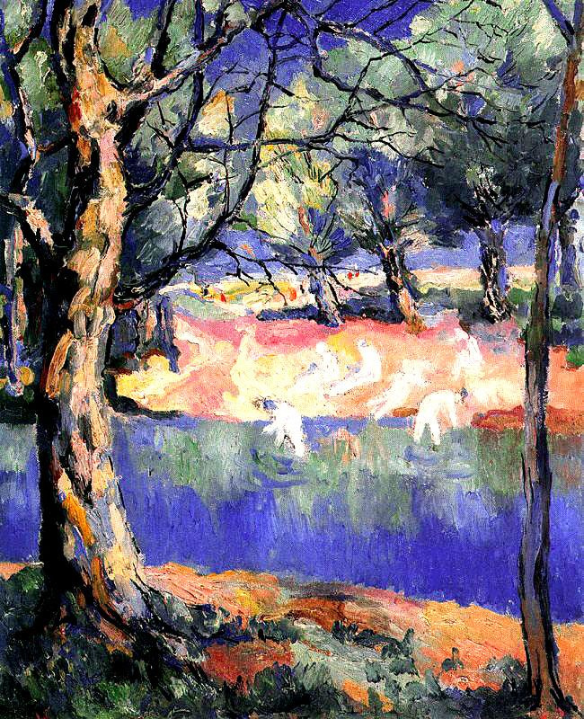 Казимир Северинович Малевич. Река в лесу