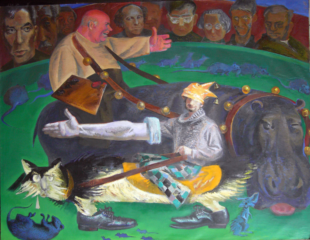 Anatoly Alekseevich Bolkhontsev. In the circus arena