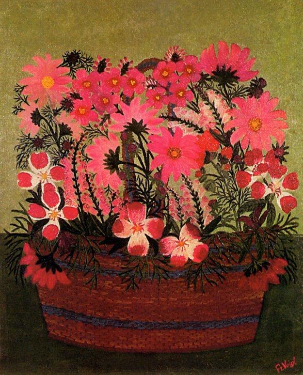 Фридерика Фойгт. Букет цветов