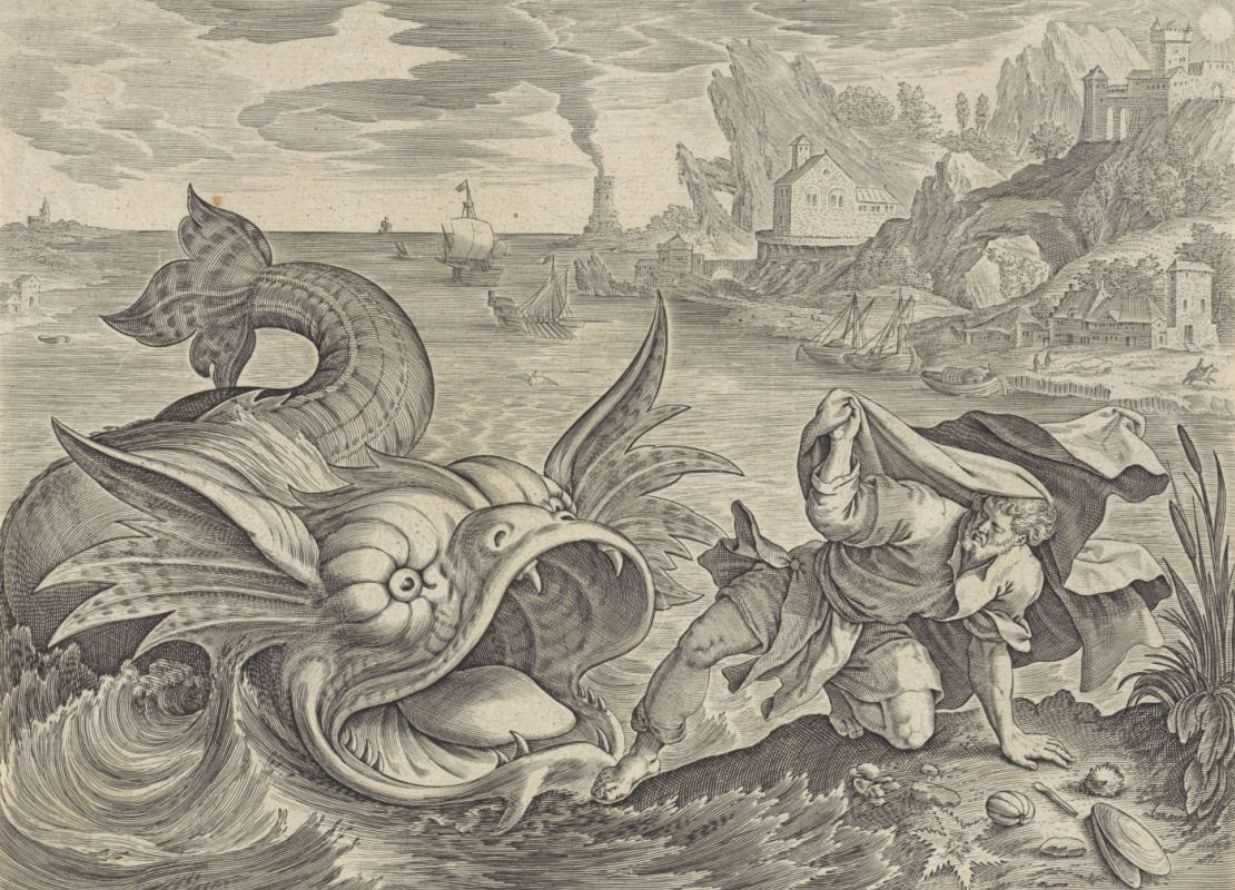 Anthony Weerix. Fish spits Jonah ashore