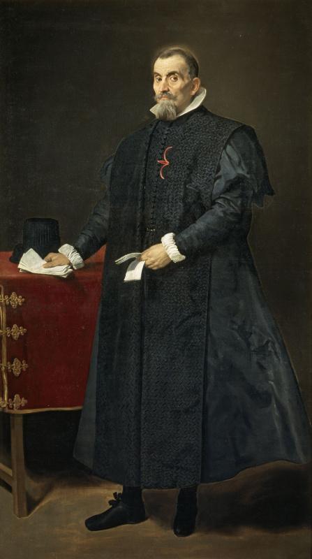 Diego Velazquez. Portrait Diego del corral-and-Arellano