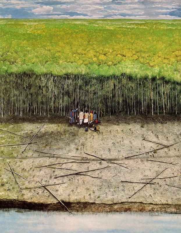 Уильям Курелек. Деревья