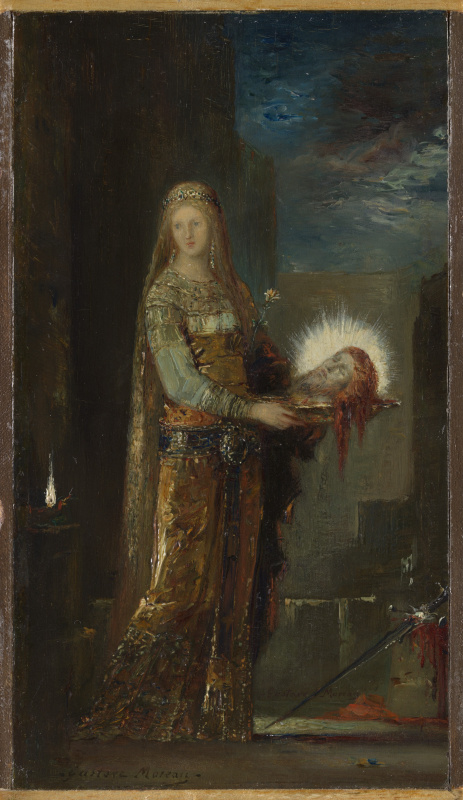 Gustave Moreau. Salome with the head of John the Baptist