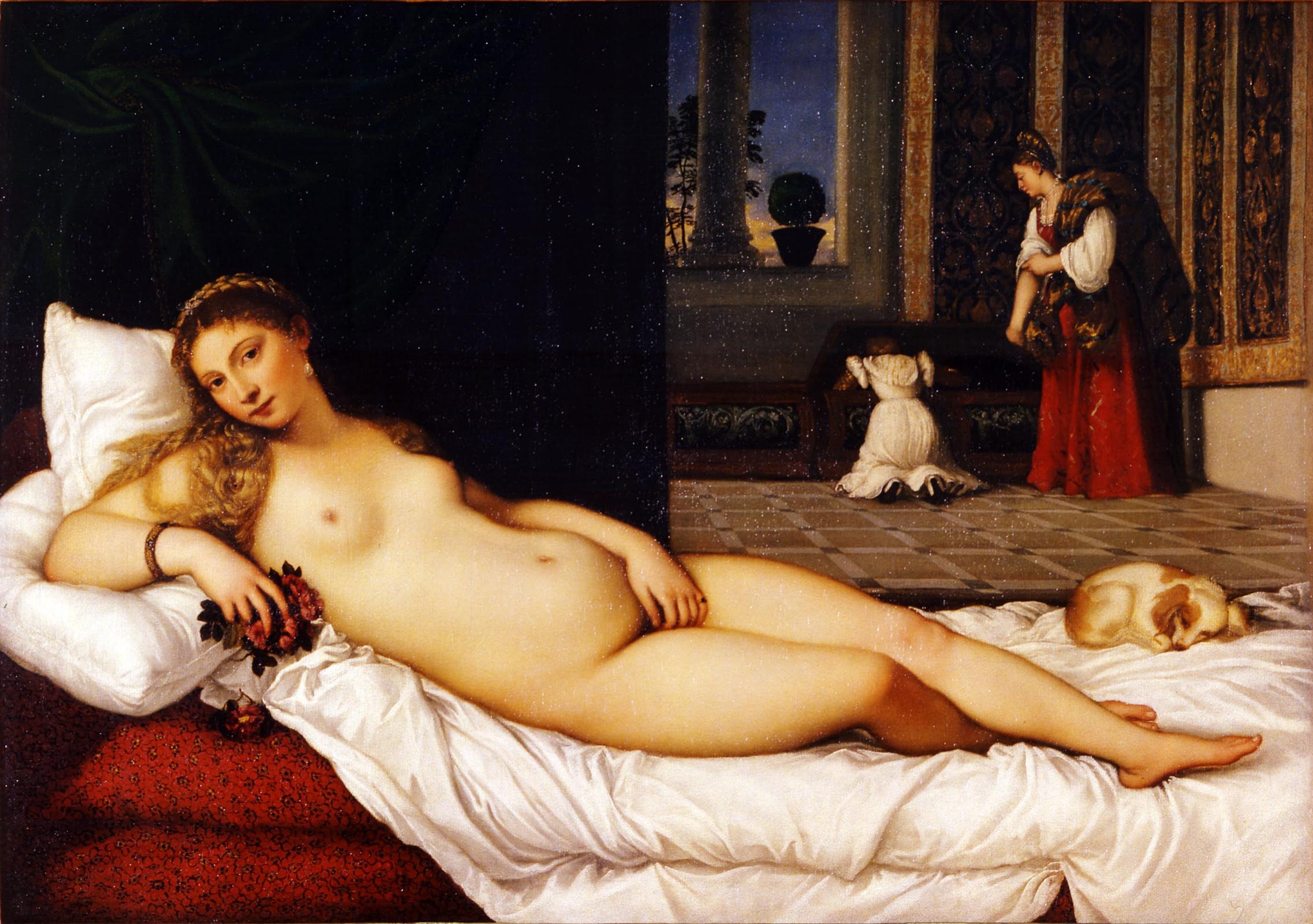 Titian Vecelli. Venus Of Urbino