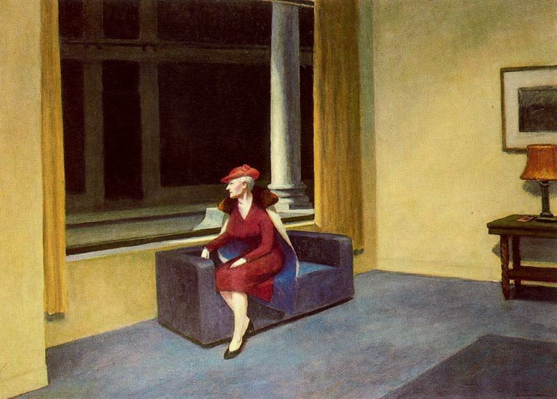 Edward Hopper. Hotel window