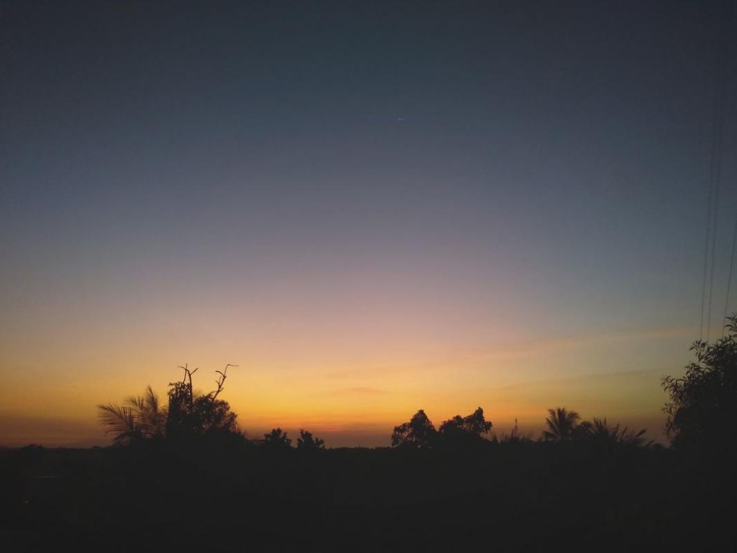 Shabin Mashio. A beautiful sunset