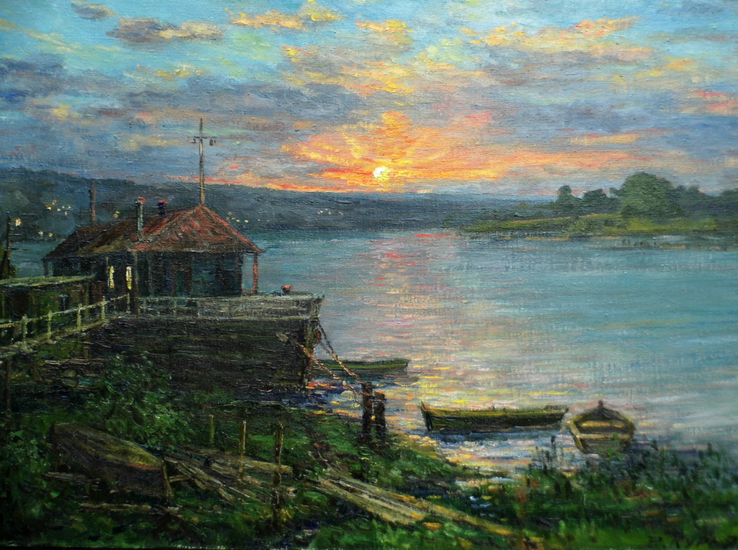 Victor Vladimirovich Kuryanov. In the silence the sun goes down