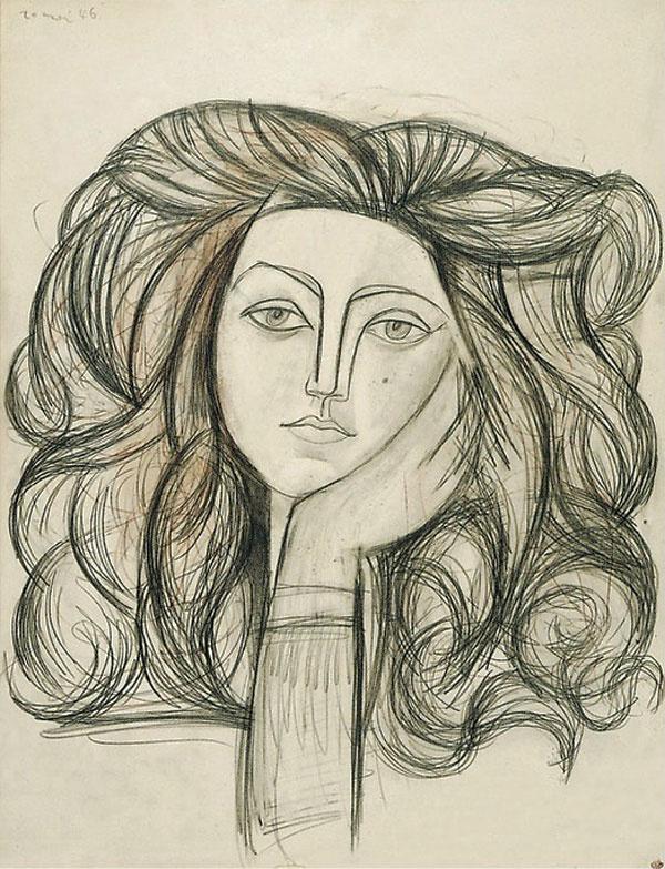 Пабло Пикассо. Портрет Франсуазы