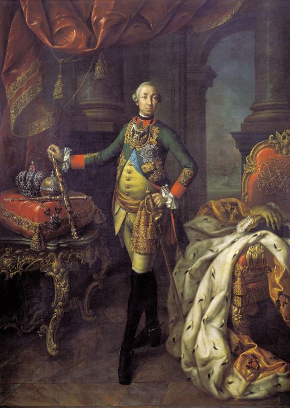 Алексей Петрович Антропов. Портрет Петра III
