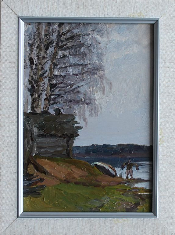 Orest Georgievich Betekhtin. On the lake