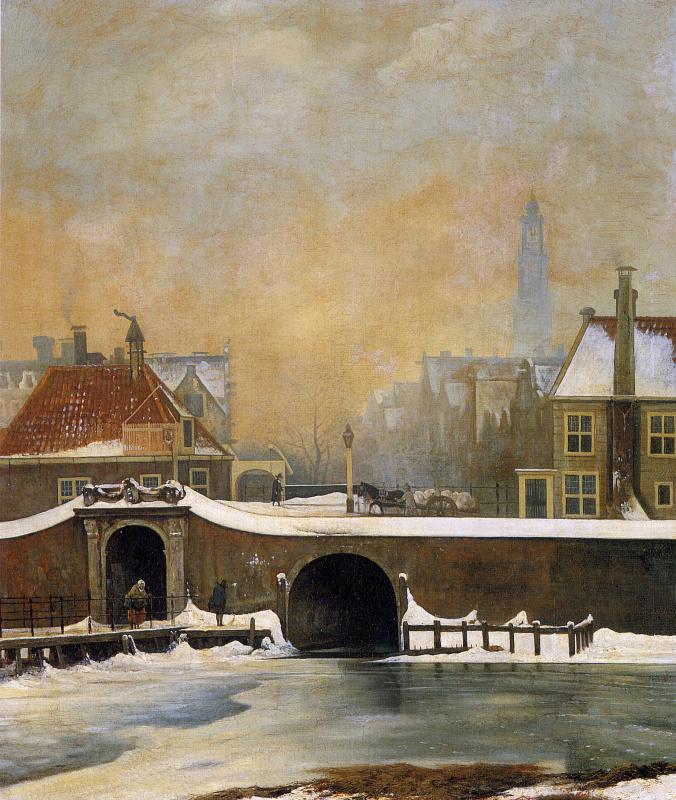 Йоханнес Ван Труствийк. Зима