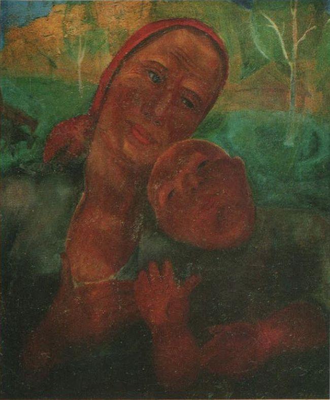 Виктор Никандрович Пальмов. Мать и ребенок