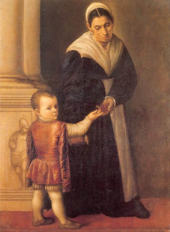 Марескалка. Женщина с мальчиком