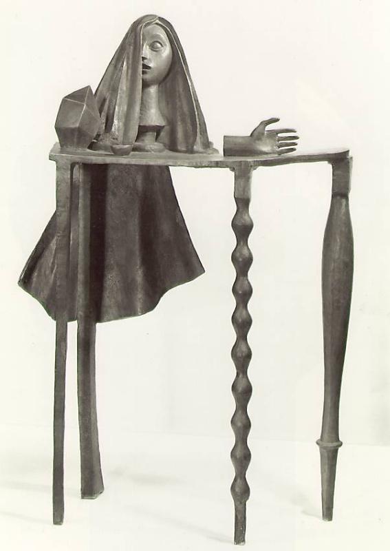 Альберто Джакометти. Сюрреалистичный стол