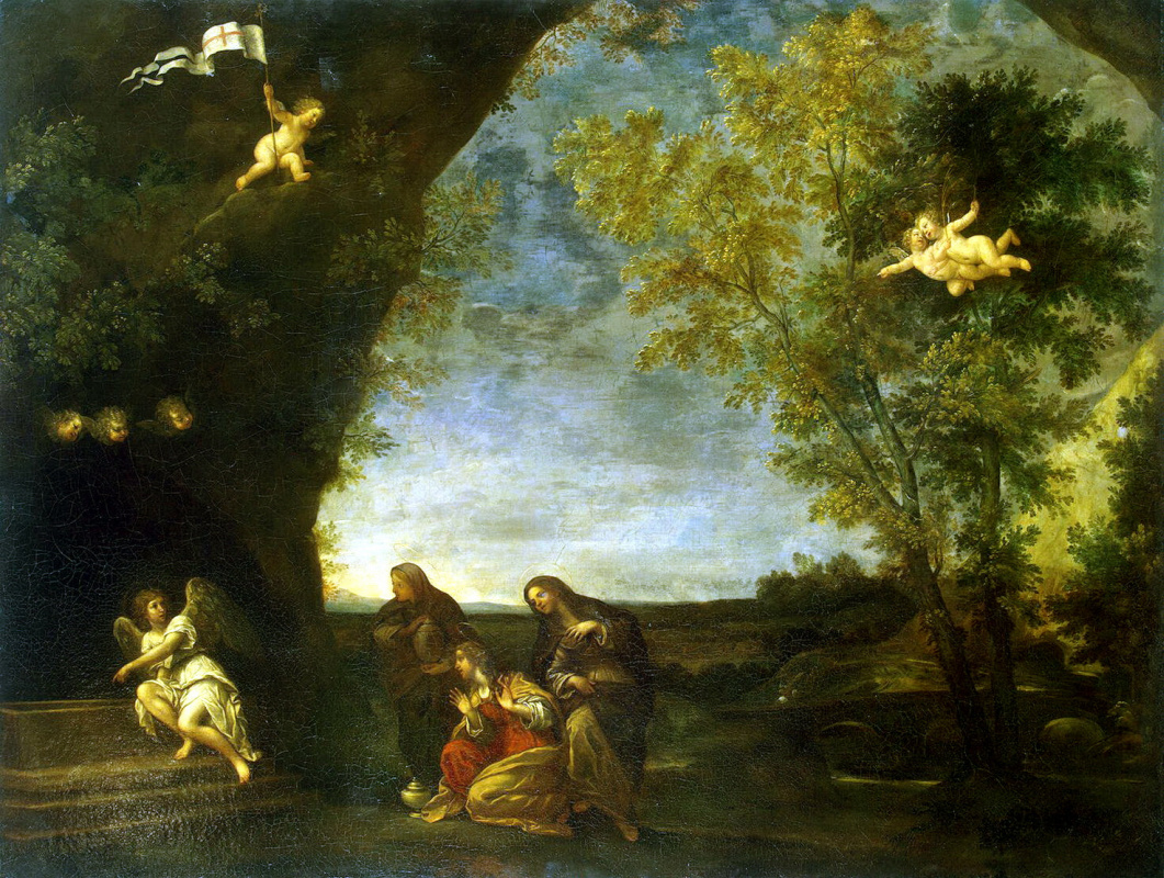 Франческо Альбани. Святые жены у гроба Христа