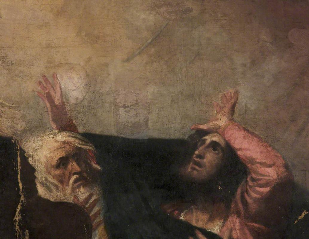"""Джордж Ромни. Алонсо, король Неаполя. Иллюстрация к пьесе Шекспира """"Буря"""""""