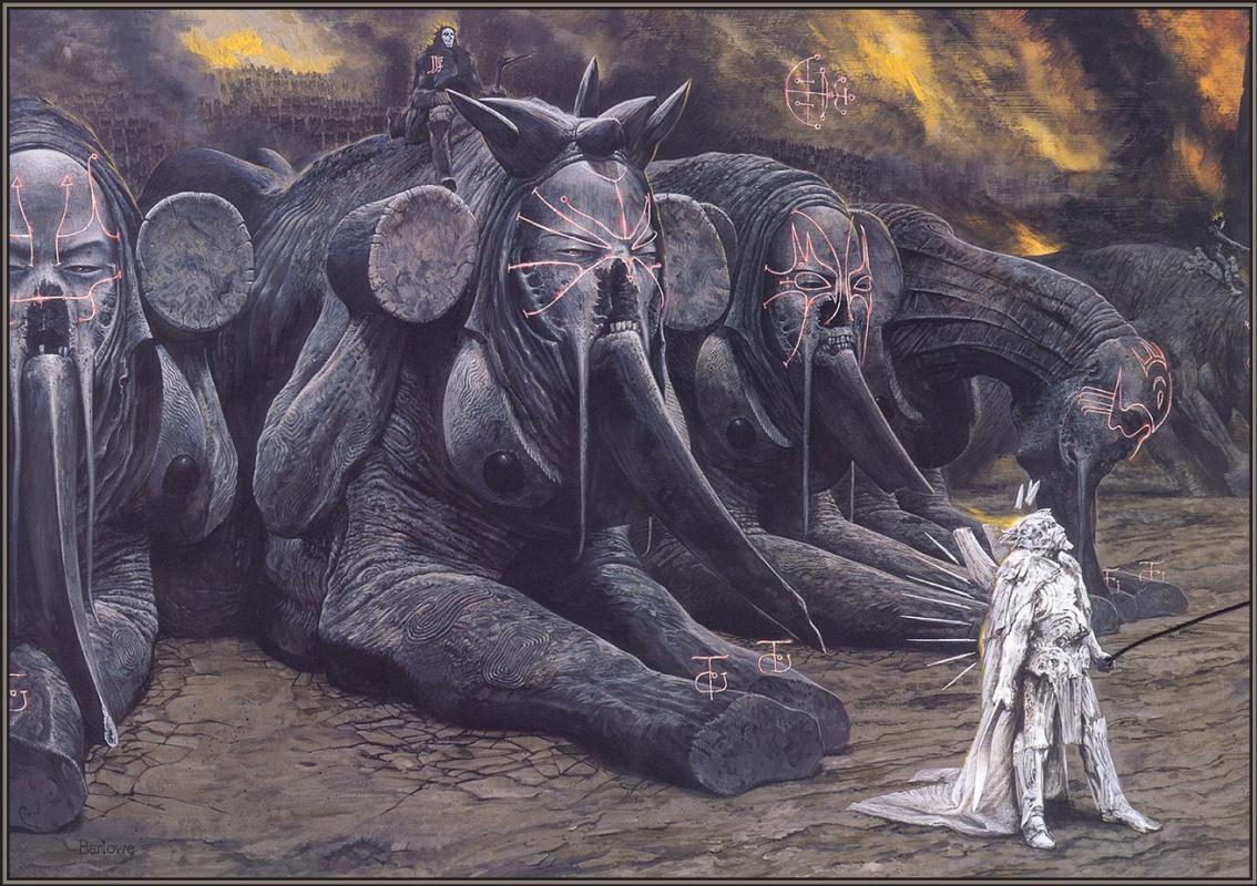 Уэйн Дуглас Барлоу. Бегемоты