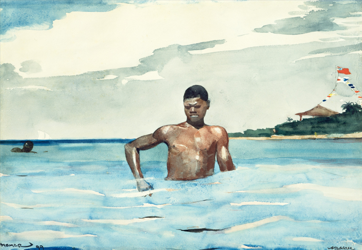 Winslow Homer. Bathers