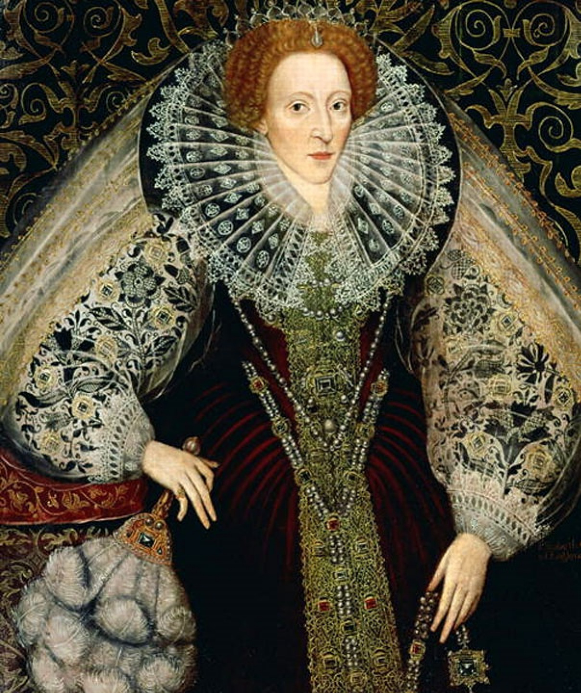 Джон Беттс   младший. Портрет королевы Англии Елизаветы I