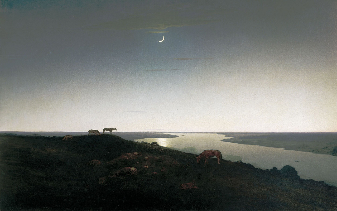 Arkhip Ivanovich Kuindzhi. Night