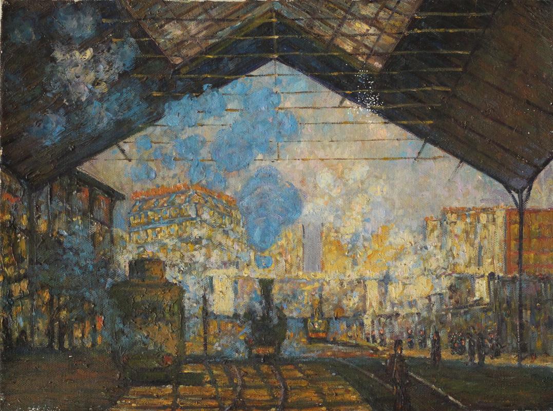 Unknown artist. Station (Monet)