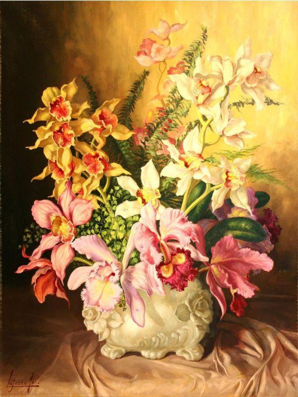 Лев Смарагдович Чистовский. Орхидеи