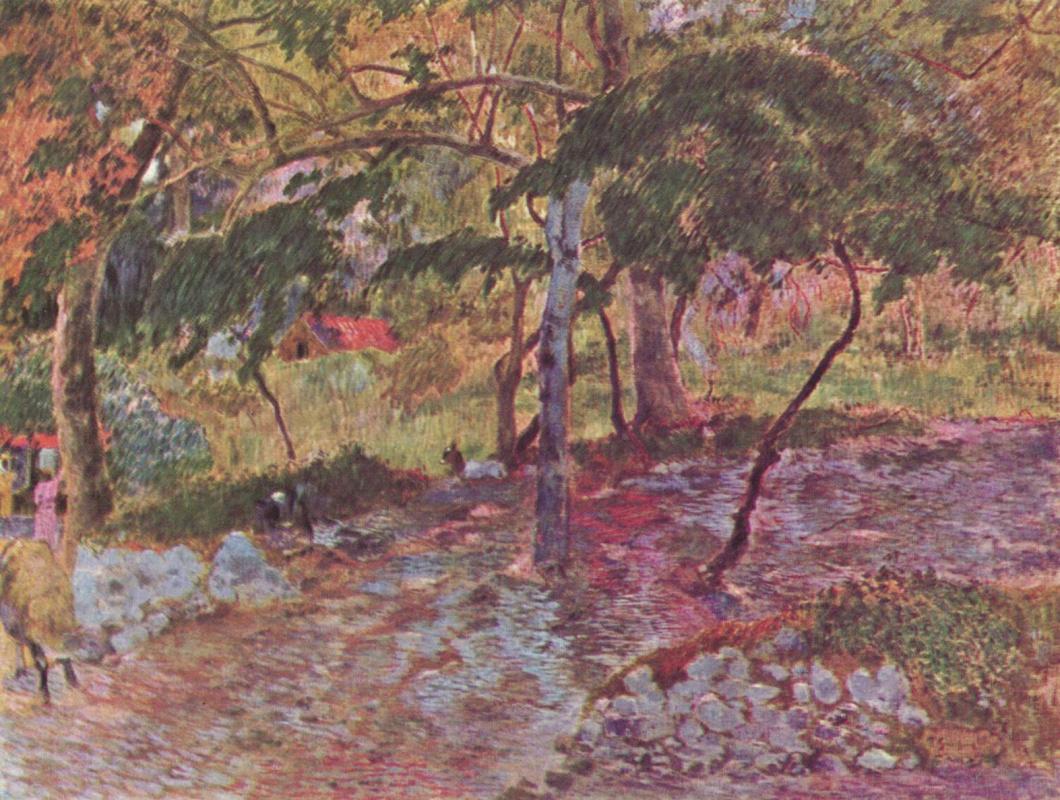 Paul Gauguin. Landscape on Martinique