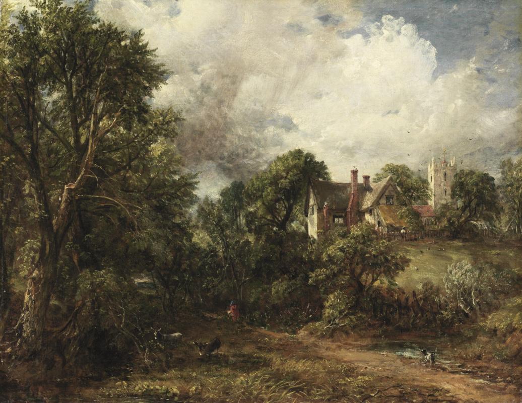 John Constable. Small farm