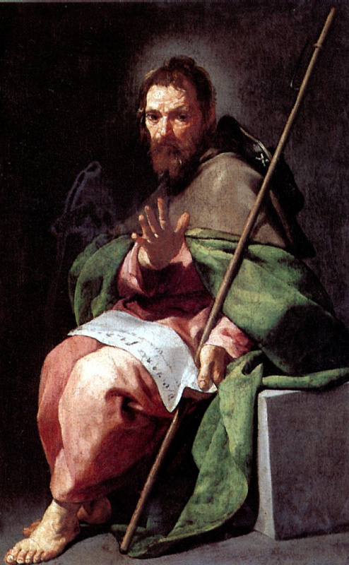 Alonso Cano. Saint James The Greater