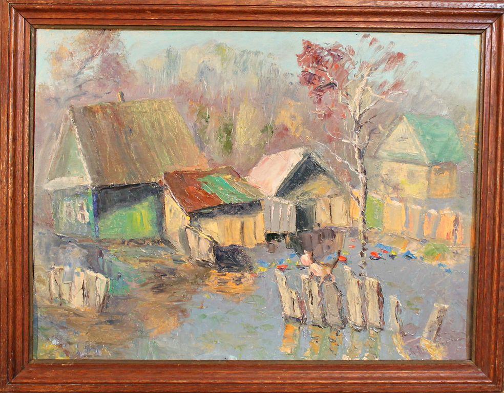 Anatoly Spiridonovich Lukin. Flood