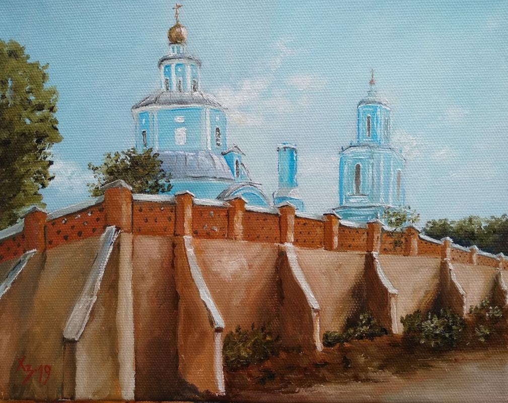 Sergei Nikolayevich Khodorenko-Zatonsky. Voronezh. St. Nicholas Church
