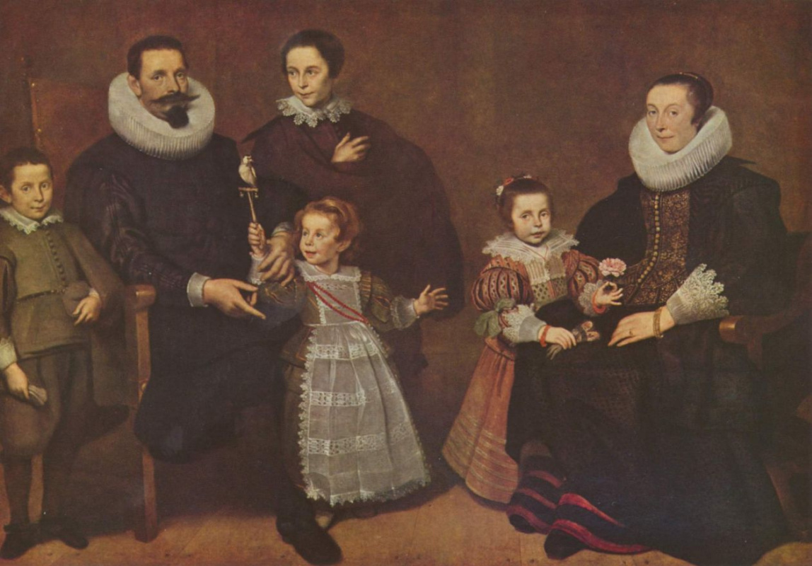 Корнелис де Вос. Семейный портрет