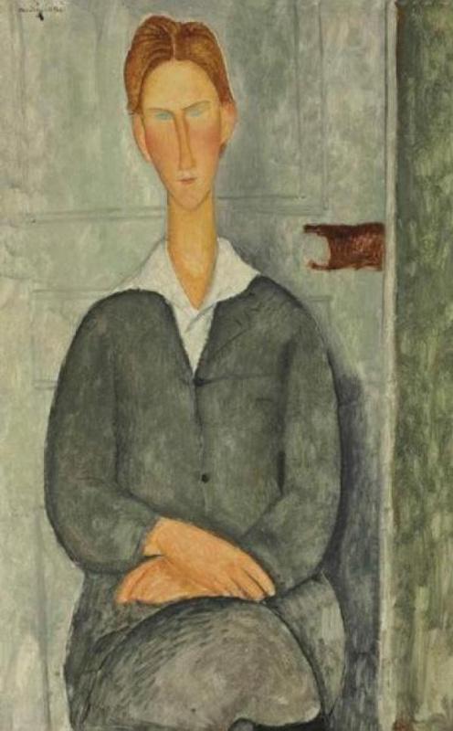 Амедео Модильяни. Молодой человек с рыжими волосами