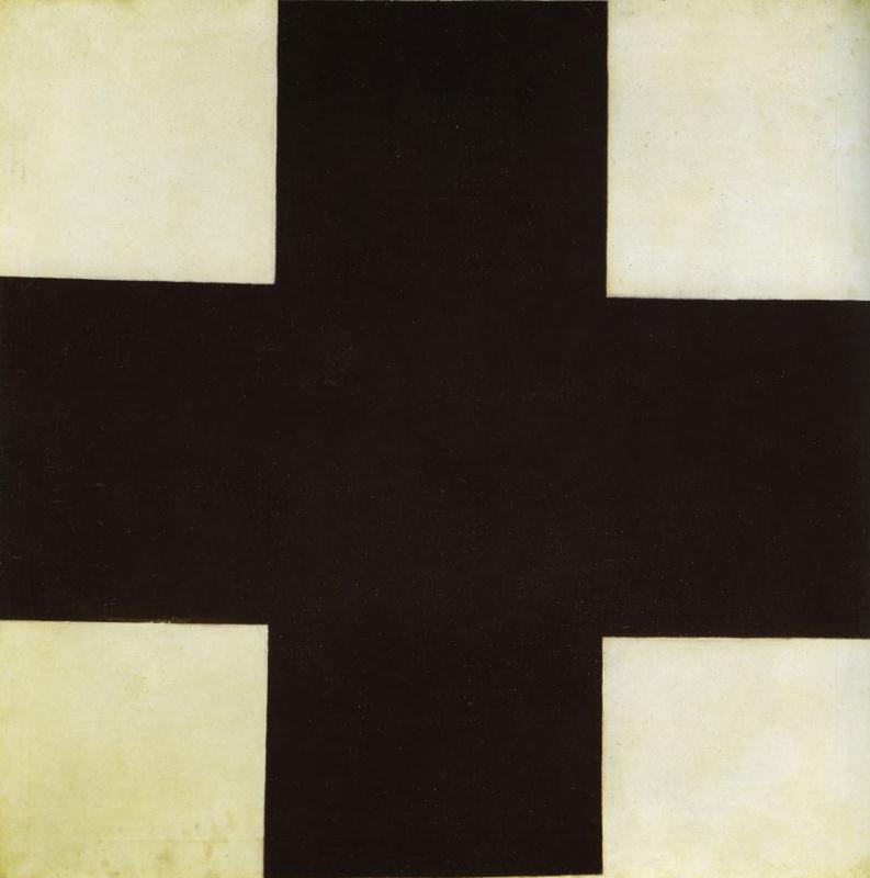 Казимир Северинович Малевич. Черный крест
